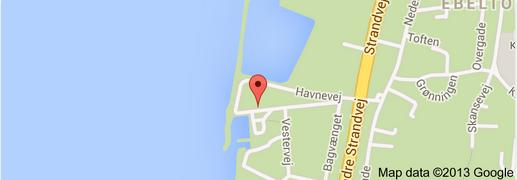 Find Flyvefisken Ebeltoft med Google Maps
